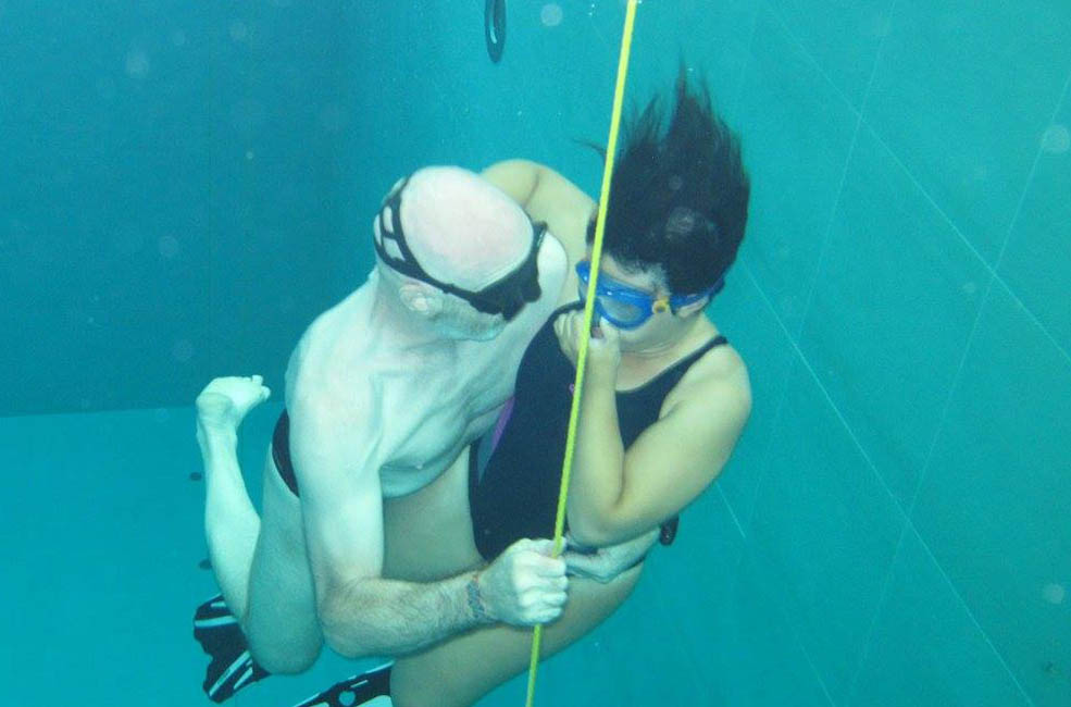 Ability Apnea con pinne in carbonio